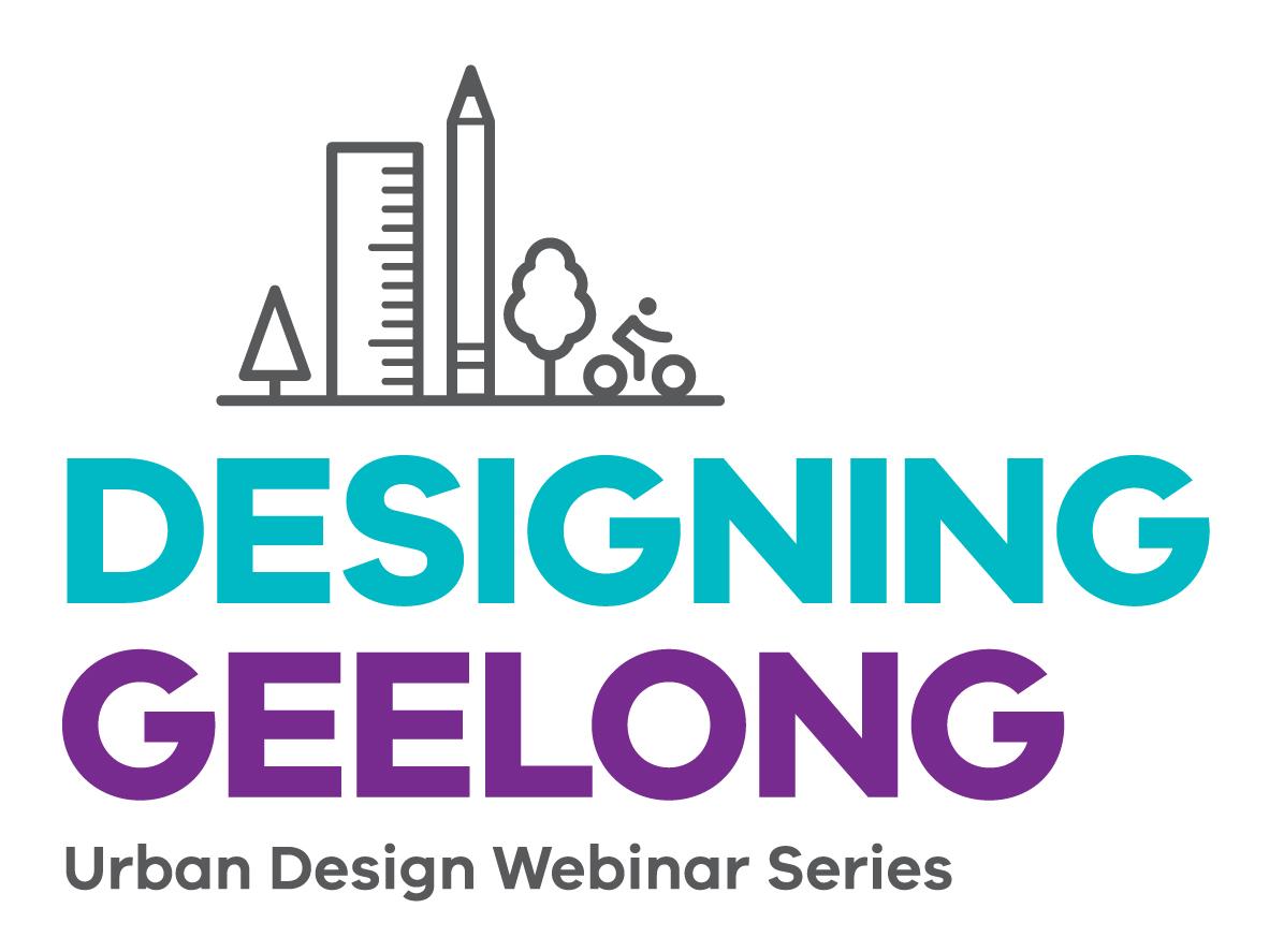 Designing Geelong Webinar Series logo