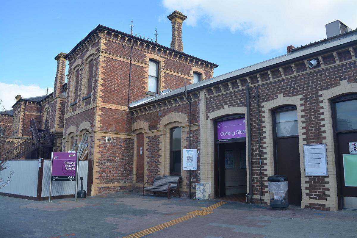 Geelong Train Station